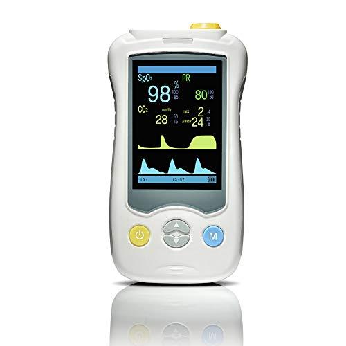 SJZV Ossimetro Portatile Palmare di Alta qualità per Uso Domestico Utilizzato per La Misurazione del Battito Cardiaco