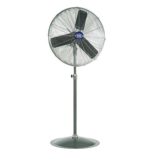 """Oscillating Pedestal Fan, 30"""" Diameter, 1/3hp, 8775cfm"""