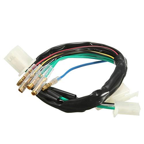 Ting WU Telar de arnés de cableado eléctrico Apto for 50cc 90cc ...