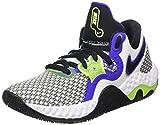 Nike Renew Elevate 2, Zapatillas de bsquetbol Unisex Adulto, White Black...