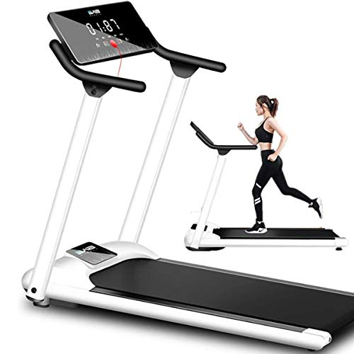 Foldable Treadmill Folding Treadmill Electric Running Jogging Walking Machine Portable Home Gym Equipment 1-10km/h Speed Adjustable