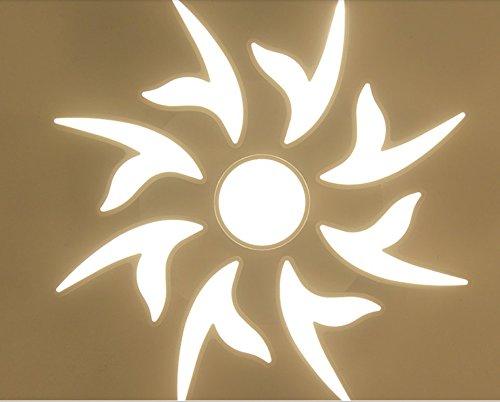 owow simple moderne salle pour enfants merveilleux et refroidir Fleur romantique en forme de LED Master plafonnier pour les garçons ou filles séjour Décoration plein d'imagination, 88 cm