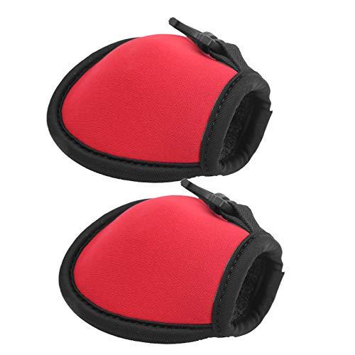 Fournyaa Golfballbeutel, Golfballtasche, umweltfreundliches Neopren-Golfer-Hilfswerkzeug für Golfbälle im Laden(red)