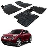 SCOUTT | 3D Tapis DE Sol en Caoutchouc Premium Compatible avec Nissan Juke 2010-2018 4 pièces