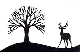 blanco Plantilla reutilizable de PVC Tree of Life A4 size Plantilla reutilizable 8.3 x 11.7 in tama/ño A3, A4, A5, con mandala celta, tama/ño grande 210 x 297 mm dise/ño de mandala
