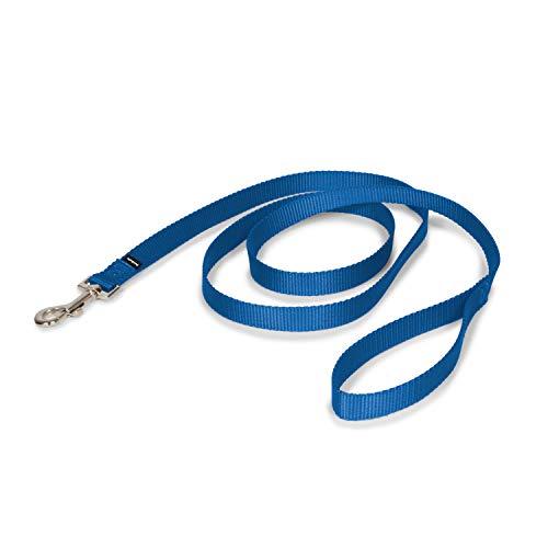 "PetSafe Nylon Leash, 3/4"" x 6', Royal Blue"