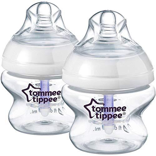 Best Deals! Tommee Tippee Closer to Nature Advanced Comfort 150ml x 2 Bottles 0m+