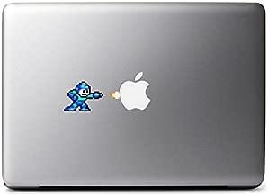 Retro 8-Bit Mega Man (Modern Colors) Decal for MacBook, iPad Mini, iPhone 5S, Samsung Galaxy S3 S4, Nexus, HTC One, Nokia Lumia, Blackberry