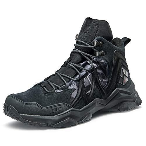 RAX Men's Peak Wolf Waterproof Hiking Boot Lightweight Backpacking Shoe(9.5 US)