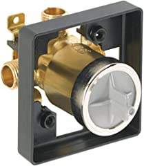 Complete flexibility: Delta's MultiChoice Universal Valve gives you flexibility to upgrade your shower trim without altering plumbing. It is compatible with most Delta single-function, dual-function, or dual-function thermostatic trim kits Recommende...
