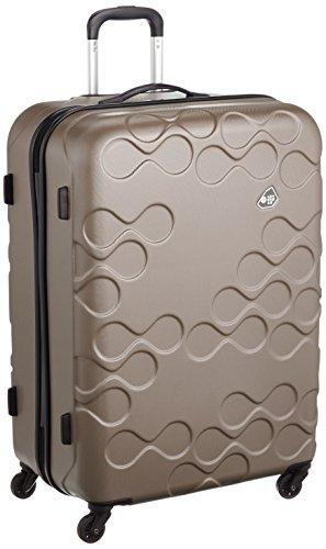 [カメレオン] スーツケース キャリーケース 保証付 108L 77 cm 4.7kg HARRANA 77cm アイボリーゴールド