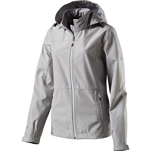 McKINLEY Damen Wander Trekking Outdoor Softshell Jacke Everest VENTMAX 4034788, Größe:42, Farbe:029 GREY MELANGE - Grau