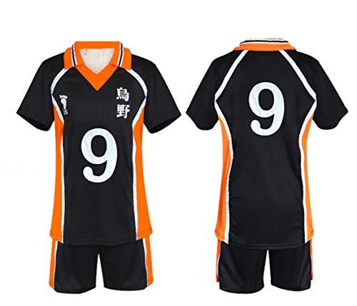 hengGuKeJiYo Hinata Syouyou Kageyama Tobio Costume Sportwear Uniform Karasuno High School Volley Ball Club Jersey Haikyu Cosplay