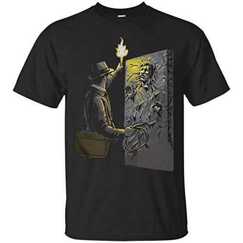 Indiana Jones Han Solo Carbonite Männer T-Shirt Fashion T-Shirt XL