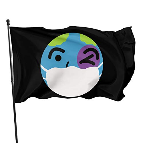 Mrscsefid Let's Save The World from Coronavirus Flag 3 X 5 Flag for Yard Decoration Banner