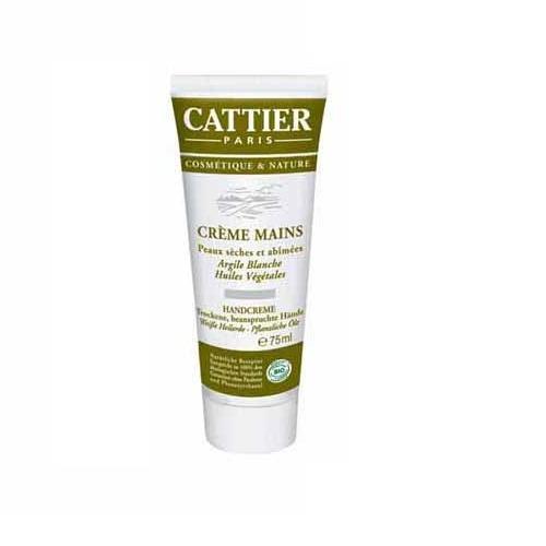 Cattier Handcreme Heilerde , 3er Pack (3 x 75 ml)