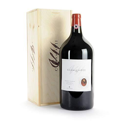 Chianti Classico DOCG Clemente VII Castelli del Grevepesa Clemente Vino Rosso italiano (JEROBOAM 3 litri)