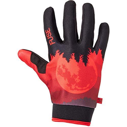Fuse Chroma - Guantes de ciclismo (talla pequeña), color rojo
