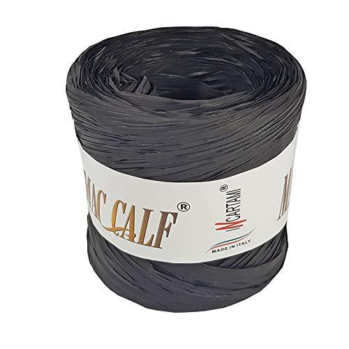 INCARTAMI-ITALIA Rafia Colorata Nera Sintetica Piu Colori Disponibili Mac Calf Metri 200 Alta QUALITA' E Resistenza
