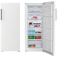 Beko RFNE270K21W Independiente Vertical 214L A+ Blanco - Congelador (Vertical, 214 L, 16 kg/24h, SN-T, A+, Blanco)