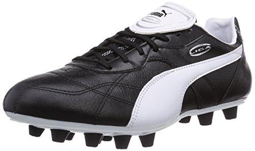 Puma Liga Classico FG, Herren Fußballschuhe, Schwarz (black-white-puma silver 01), 40.5 EU (7 Herren UK)