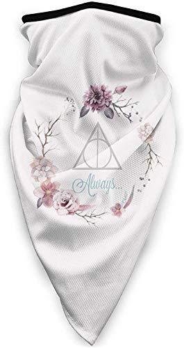 'N/A' Har-Ry P-OTT-Er - Pañuelos deportivos ajustables resistentes al viento y a los rayos UV, pasamontañas para mujeres y hombres para deportes al aire libre, reutilizables, lavables