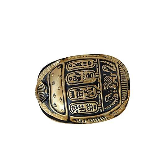 Uterstyle Antiguo Escarabajo Egipcio Escultura/Regalos Figura de Resina Estatua Ornamento Artesanía Decoración Oficina Hogar