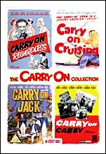 The Carry On Collection Volume 2 - Carry On Regardless / Carry On Cruising / Carry On Jack / Carry On Cabby