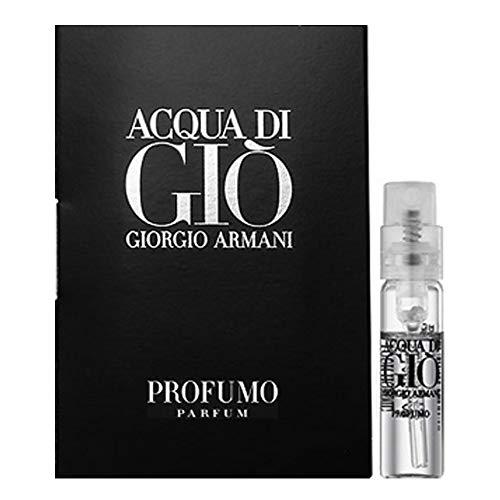 Acqua Di Gio Profumo by Giorgio Armani Vial (sample) .05 oz for Men - 100% Authentic