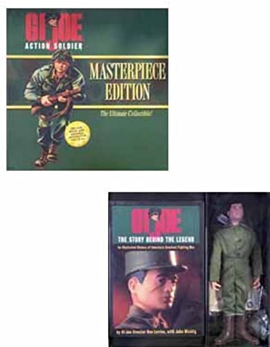 GI Joe Masterpiece Edition The Ultimate Collectible - Action Soldier with Deluxe Book and Original Reproduction 1964 GI Joe With schwarz Hair by G. I. Joe