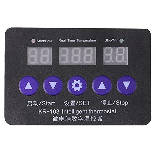 Commutateur de commande numérique de contrôleur de température de Thermostat de cc Intelligent pour l'équipement de Machine avec la sonde de capteur