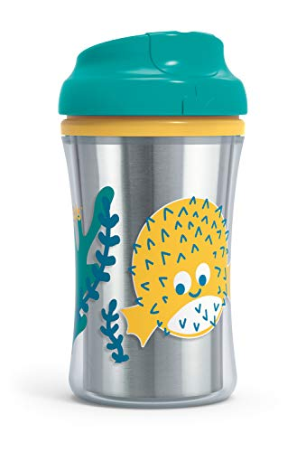 First Essentials by NUK Hard Spout Sippy Cup, 10 oz., 2-Pack, Assorted Colors