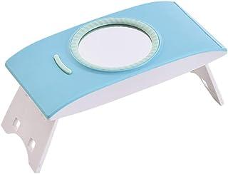 CYYMY 12W Lámpara LED Uñas, Mini Secador UV Portátil Máquina de Uñas USB Plegable con luz Solar para Gel Manicura Shellac Esmalte de Uñas Manicura Pedicure de Hogar,Azul