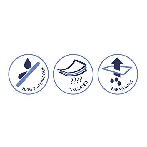 SealSkinz Waterproof All Weather Cycle Cap, Black, Small/Medium - 5