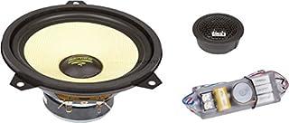 Audio System X ION 165 E46–Koaxiallautsprecher fürs Auto, Schwarz und Gelb