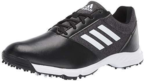 adidas Womens TECH Response Golf Shoe black/silver metallic/grey five 9.5 M US