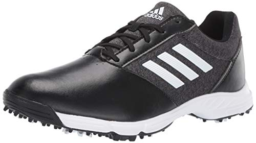 adidas Womens TECH Response Golf Shoe black/silver metallic/grey five 8 M US