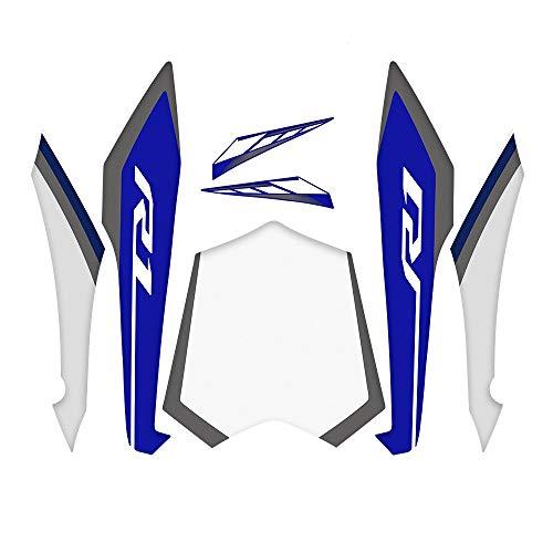 Etiqueta engomada de la motocicleta Protección impermeable FairingReflective Decal Película decorativa para Yamaha yzf R1 2015-2018 Accesorio Pegatinas