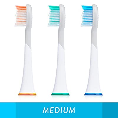 Balance Sonic Electric Toothbrush, Home Oral Care Kit with Battery Charger, Holder, & Replacement Heads included
