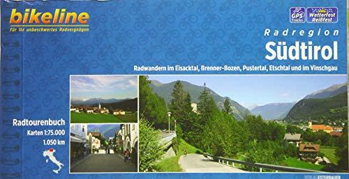 Bikeline Radatlas Südtirol: Radwandern im Eisacktal, Pustertal, Etschtal und im Vinschgau. Radtourenbuch 1 : 75 000 (Bikeline Radtourenbücher)
