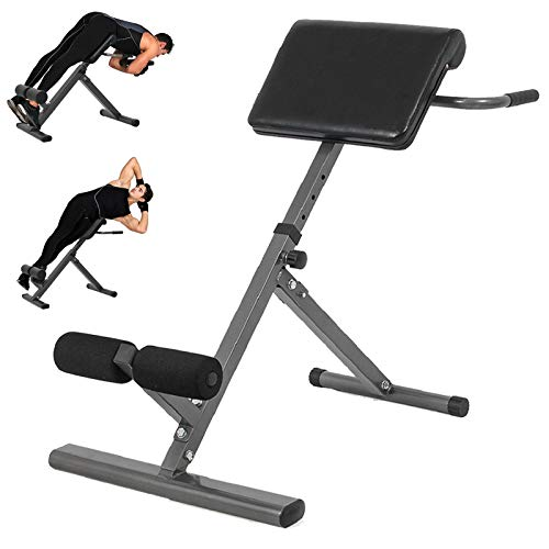 Yinguo Roman Chair Fitness Ab Core Trainer Folding Weight Bench, Adjustable...
