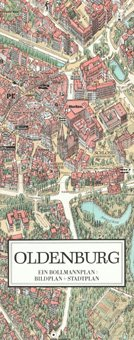 Stadtplan Oldenburg in 3D von Bollmann