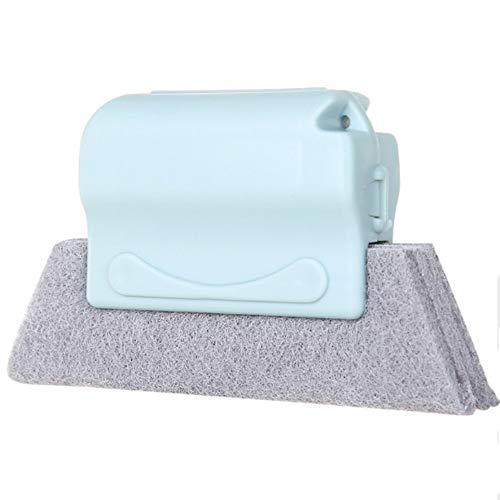 クリーニングブラシ 隙間掃除ブラシ すき間のホコリごっそりブラシ 隙間掃除 はたき、ほこり取り 掃除道具 除去汚れ お風呂 窓 台所 キッチン適用 清潔ケア用 (青色)