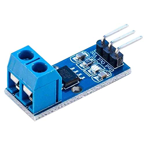 AZDelivery ACS712 Stromsensor 5A Messbereich Range Modul Current Sensor kompatibel mit Arduino Bascom inklusive E-Book!