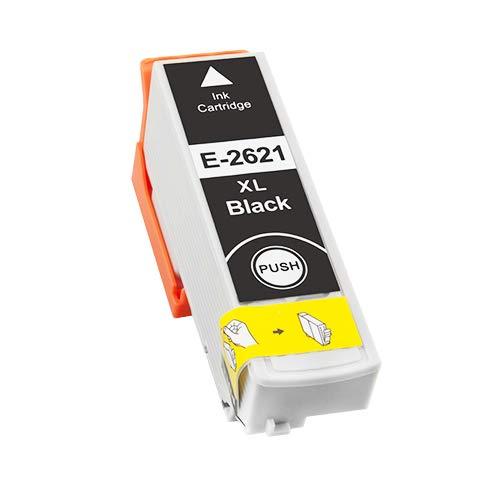 TONERPACK T2621/T2601 (26XL) Negro Cartucho de Tinta Generico - Reemplaza C13T26214012/C13T26014012 para Epson