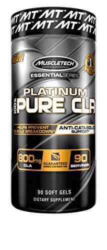 Muscletech Essential Series Platinum Pure CLA Standard - 90 Cápsulas