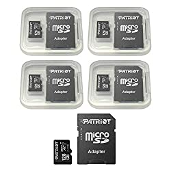 in budget affordable Patriot LX Series 128GB Micro SDXC – Class 10 UHS-I – Pack of 5