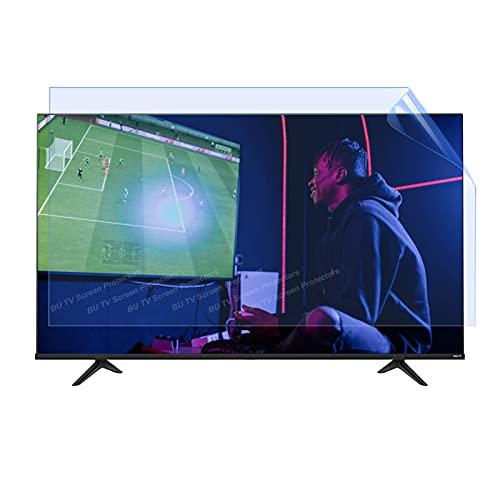 43-65 Pulgadas TV Anti-Blue Light Protection Film, TV LCD Protector de Pantalla Anti-Glee/Anti Scratch Film para Sharp, Sony, Samsung, TCL, LG,65' 1429 * 804