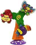 Fisher-Price - Sonajero Gira-Gira con animalitos: Mariposa, Mono y Tucán (Mattel)