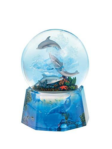 Spieluhrenwelt 25215 Glitzerkugel Delfine